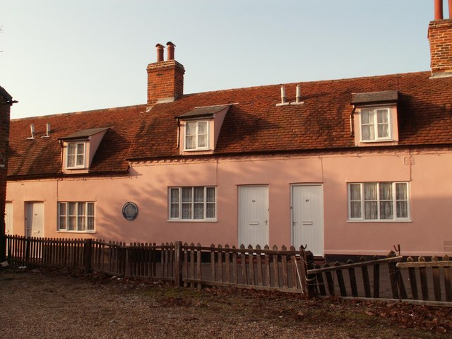 Almshouses in Queen Street at Coggeshall