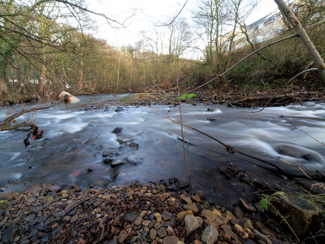 The River Don below Oughtibridge weir #2