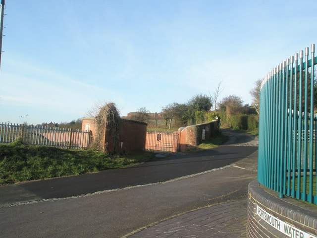View north west at Farlington Waterworks