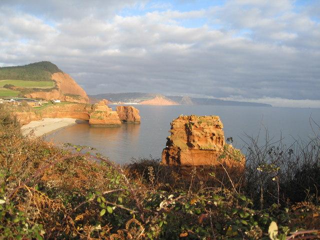 Jurassic Coast - Ladram Bay