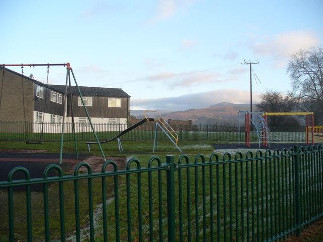 Playground, Three Cocks estate