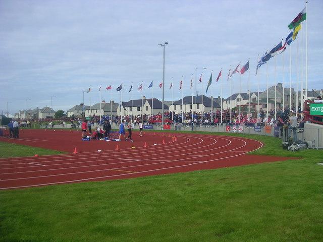 Athletics Track, Clickimin.