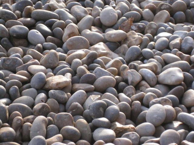 Ladram Bay - pebbles