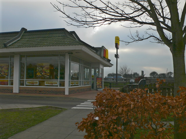 McDonald's at Rothwell Services