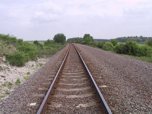 Railway, near Newmarket