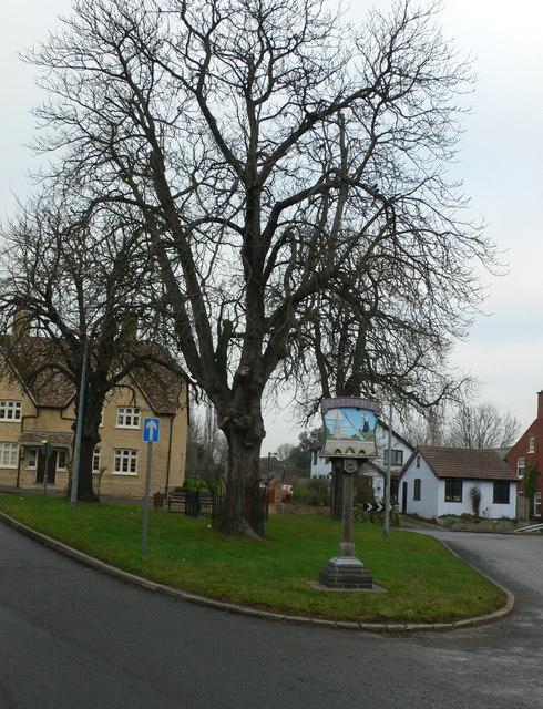 Spaldwick village