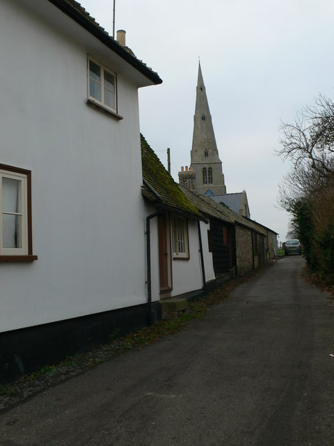 Church Lane, Spaldwick