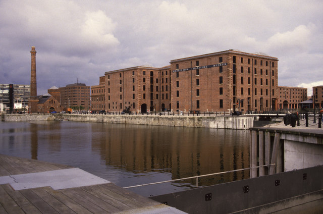 The magnificently redeveloped Albert Dock, Liverpool