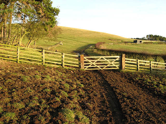 The public footpath to Fawdon