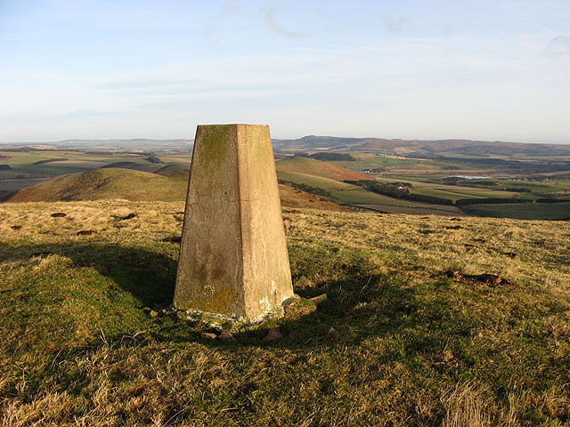 Old Fawdon Hill trig point