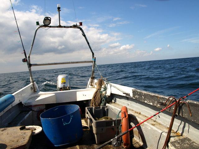 Fishing at sunk sand