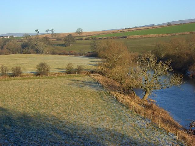 Pastures beside the River Eden, Udford