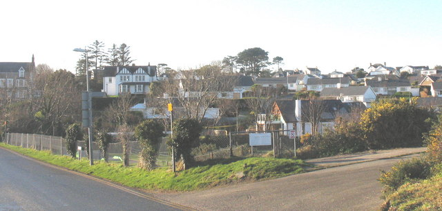 New bungalow estates on the western outskirts of Abersoch