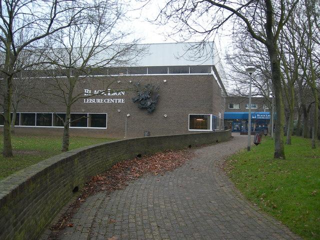 Black Lion Leisure Centre, Gillingham (2)