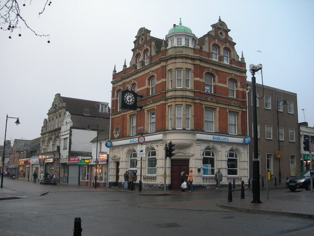 Corner of Gillingham High Street and Canterbury Street