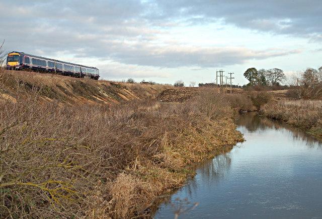 Eden and railway