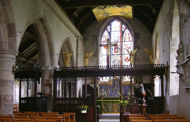 Interior, St George, Brinsop