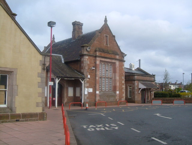 Penrith Railway Station, the entrance!