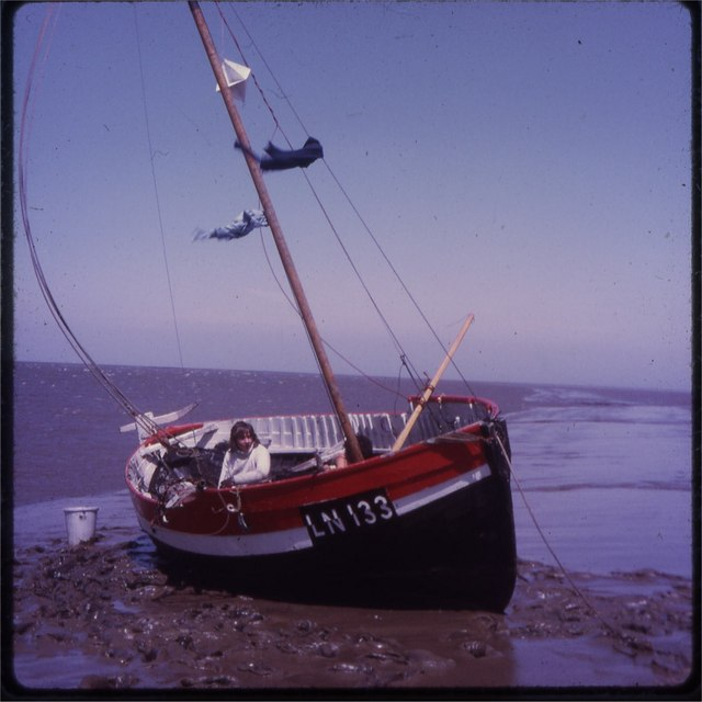 Boat on the mudflats