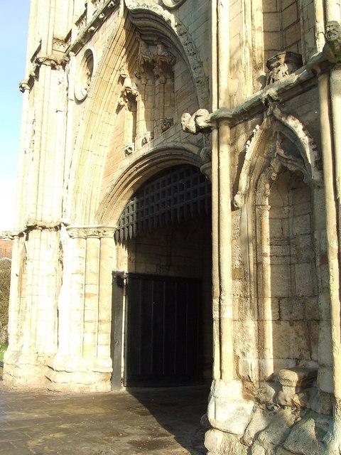 Abbey gate entrance
