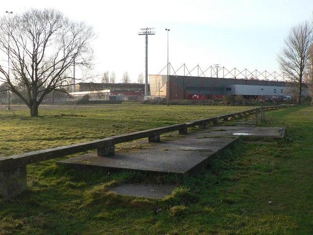 King's Park: miniature railway platform