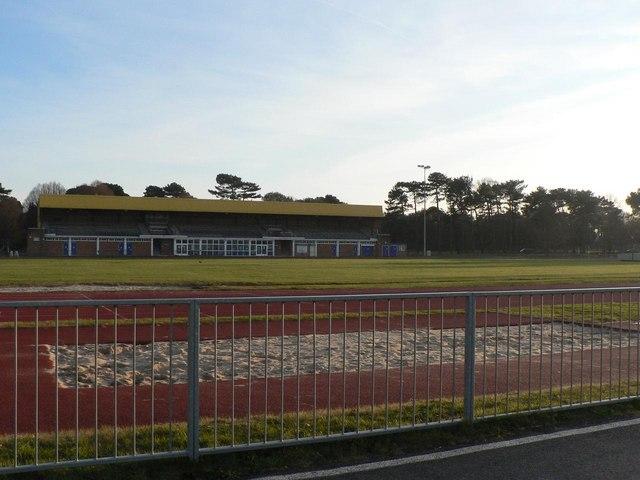 King's Park: athletics track and sandpit