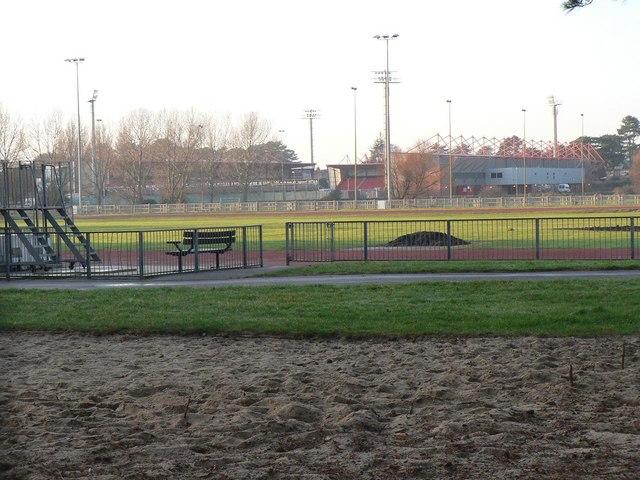 King's Park: athletics and football