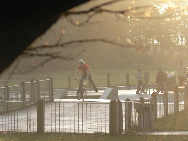 King's Park: skatepark
