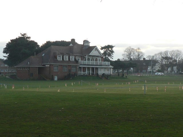 King's Park: cricket pavilion