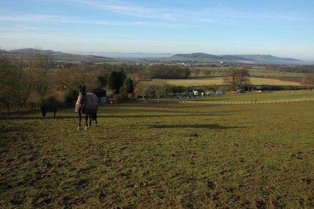 Farmland at Wood Stanway