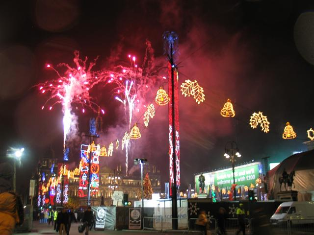 George Square Christmas Lights 2007