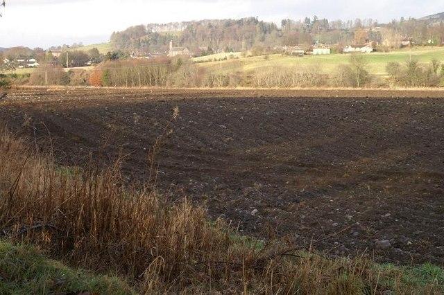 Farmland at Milton of Rattray