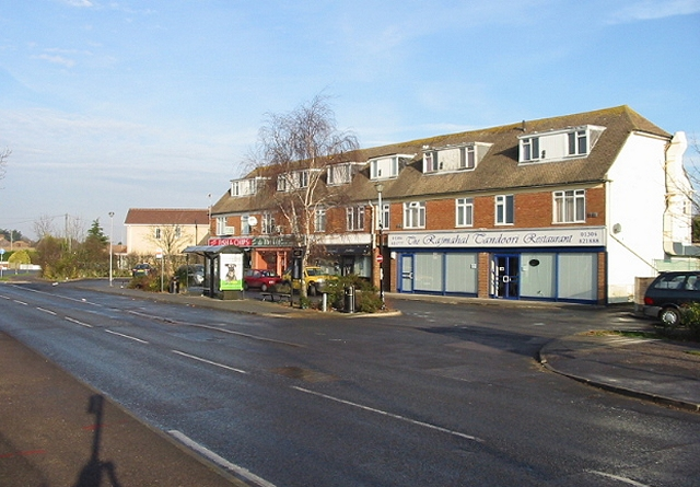 Parade of shops at Whitfield