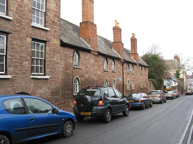 Webbe Almshouses, Copse Cross Street