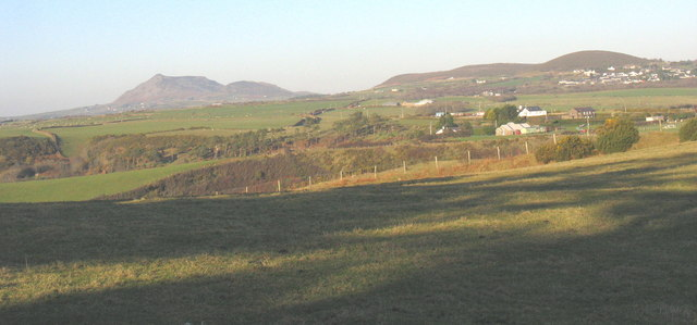 View towards the gorge of Afon Soch