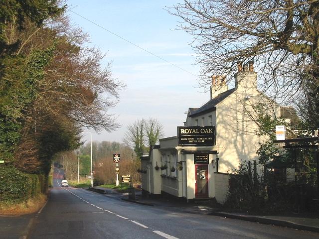 The Royal Oak, Sandwich Road, Whitfield