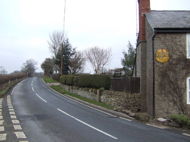 A480 at Woonton