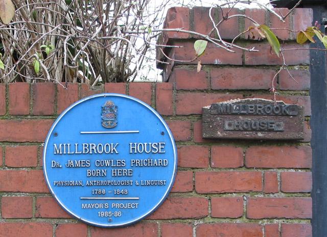 Blue Plaque, Millbrook House