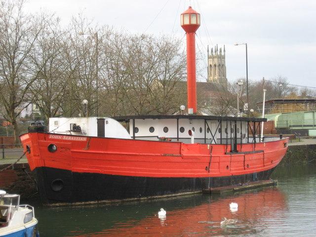 Lightship 'John Sebastien'