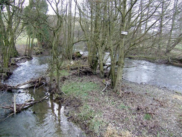 View upstream from Hunton Bridge