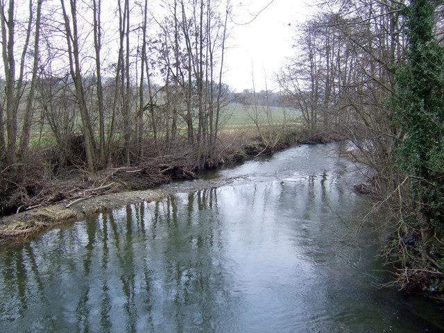 River Arrow at Hunton Bridge