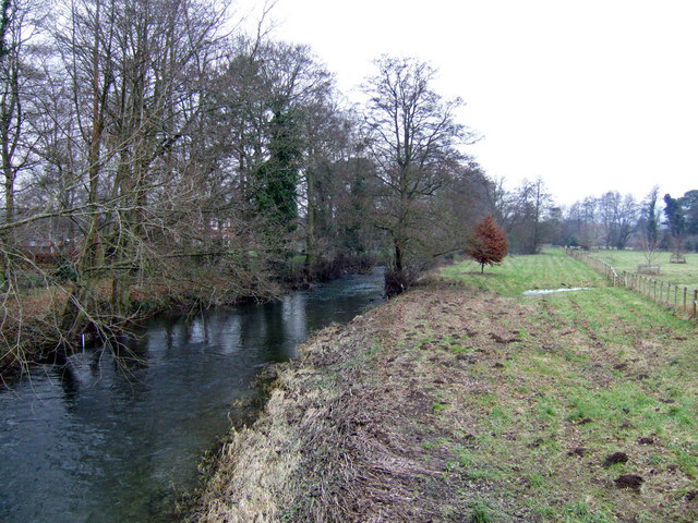 River Arrow - view upstream