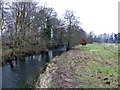SO3759 : River Arrow - view upstream by Jonathan Billinger