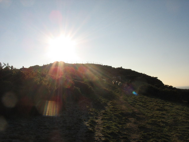 The Pen-y-Gaer Hillfort at the Winter Solstice
