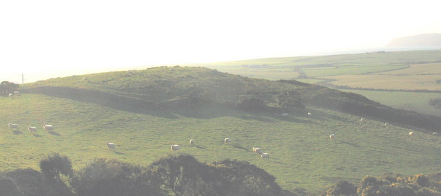 The Pen-y-gaer hill fort