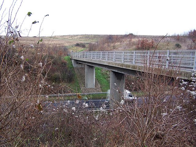 Bridleway bridge over A249