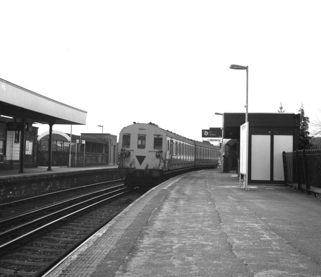 Smitham station, Surrey