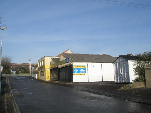 MOT Centre in Waterworks Road