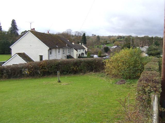 Llanvapley village
