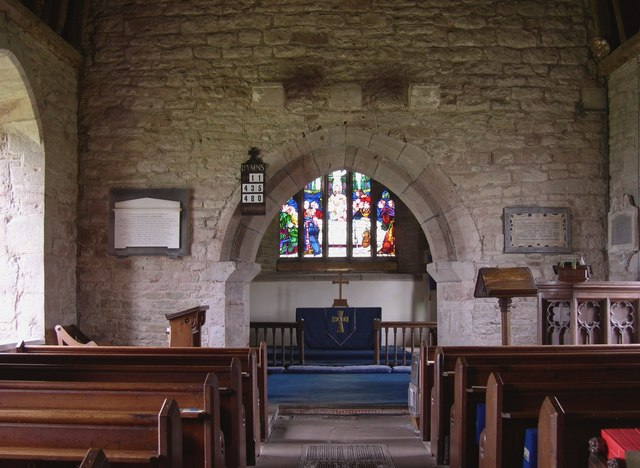 Interior, St Peter, Dormington